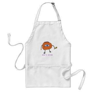 don't scram adult apron