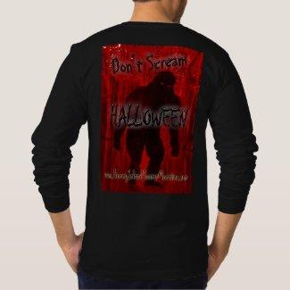 Don't Scream Halloween Honey Island Swamp Monster T-Shirt
