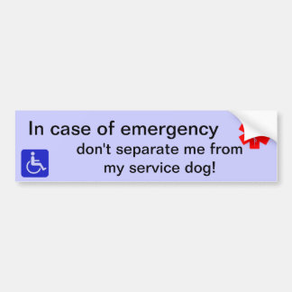 Don't separate sticker