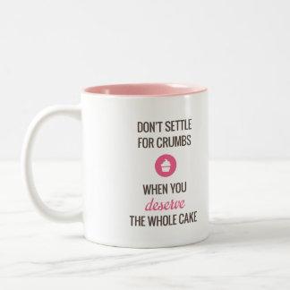 Don't Settle Mug