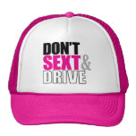 Don't Sext & Drive - Hat