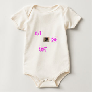dont shop adopt baby bodysuit