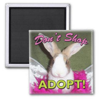 Don't Shop, Adopt! Magnet