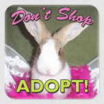 Don't Shop, Adopt! Stickers