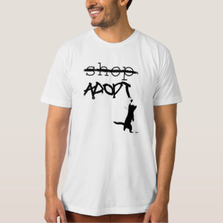 """Don't Shop - ADOPT"" T-Shirt"