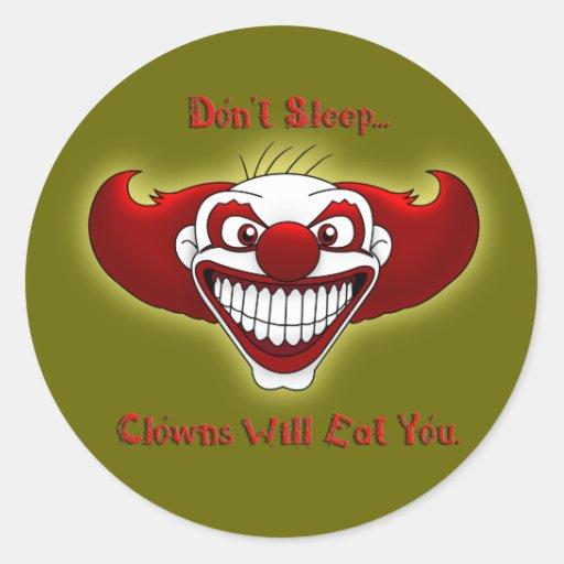 Don't Sleep... Round Stickers