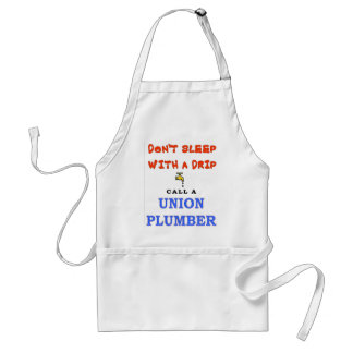 DON'T SLEEP WITH A DRIP ADULT APRON