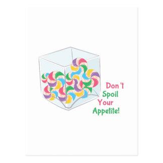 Don't Spoil Your Appetite! Postcard