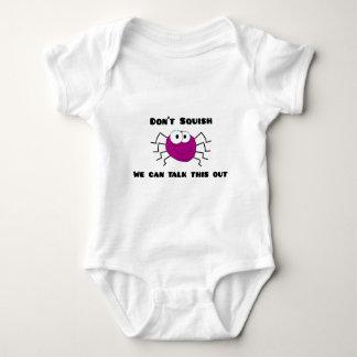 Don't Squish the Spider Baby Bodysuit