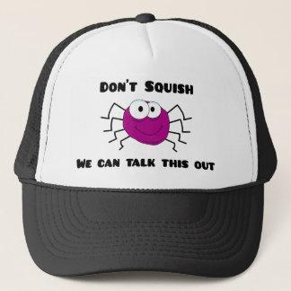 Don't Squish the Spider Trucker Hat