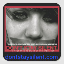 Don't Stay Silent. Sticker   Site
