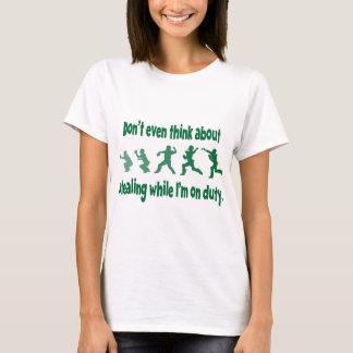 Don't Steal 2, green T-Shirt