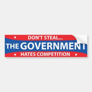 Don't Steal Bumper Sticker Car Bumper Sticker