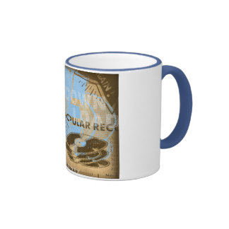 Don't Steal Music! Ringer Coffee Mug