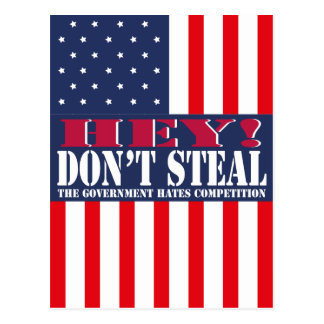 Don't Steal Postcard