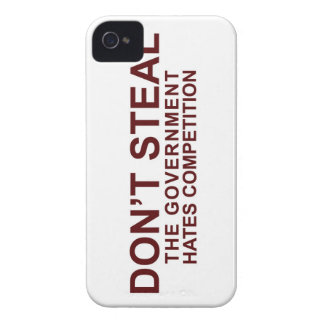 Don't Steal - The Government Hates Competition Case-Mate iPhone 4 Case