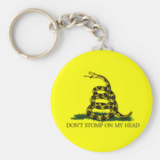 Don't Stomp on my Head Keychain