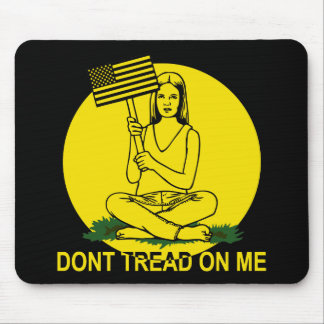 Dont Stomp On My Head Mouse Pad