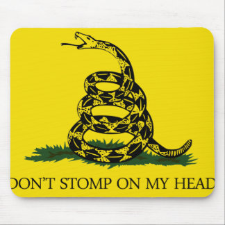 Don't Stomp on my Head Mouse Pad