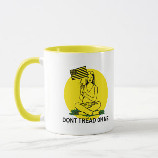 Dont Stomp On My Head Mug