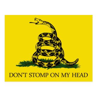 Don't Stomp on my Head Postcard