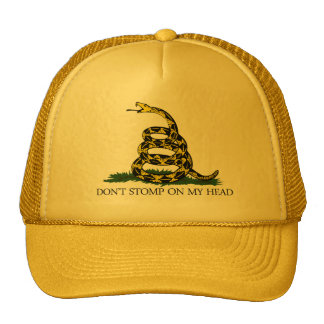 Don't Stomp on my Head Trucker Hat