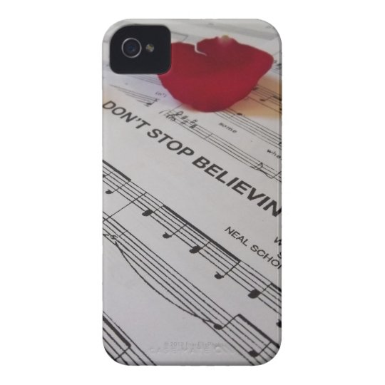 """""""Don't Stop Believin'"""" iPhone 4 Case"""