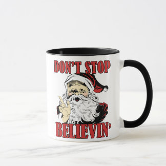 Dont stop believin' mug