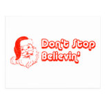 Don't Stop Believin' Postcard