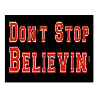 Don't Stop Believin' Postcard