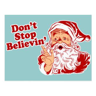 Dont Stop Believing Postcard