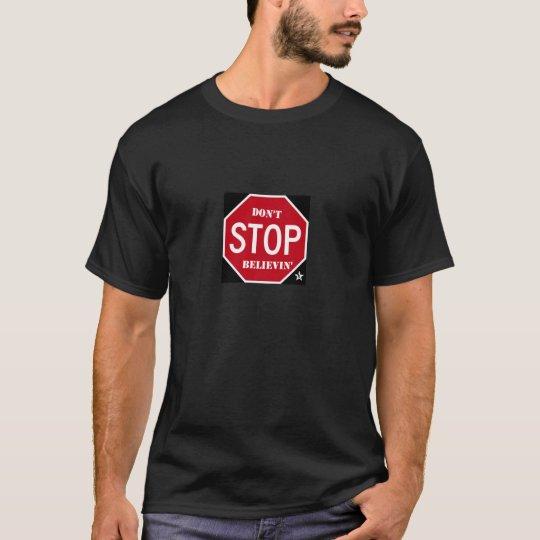don't stop mens shirt