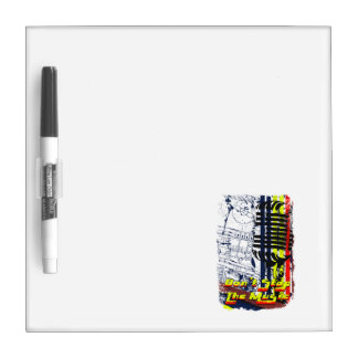 dont stop music affected Dry-Erase boards