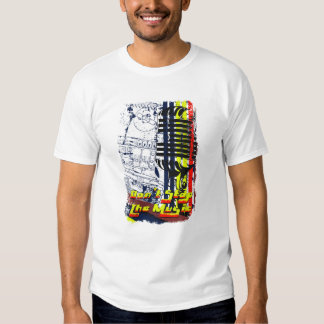 dont stop music affected grunge image shirt