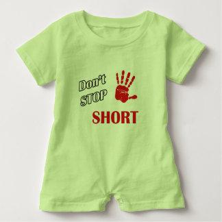 Don't Stop Short Baby Romper