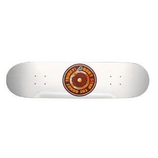 DON'T STOP THE DONUT THINGY! SKATEBOARD DECK