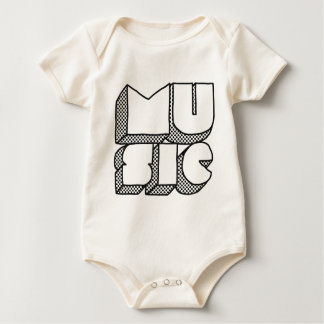 Don't Stop the Music Baby Bodysuit