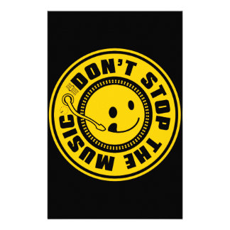 DON'T STOP THE MUSIC STATIONERY