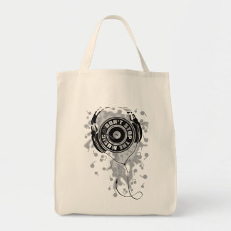 DON'T STOP THE MUSIC TOTE BAG