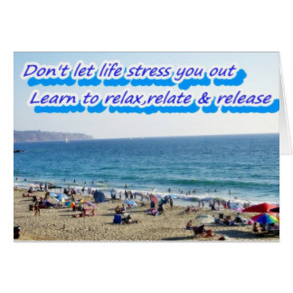 Don't Stress,Relax_ Card