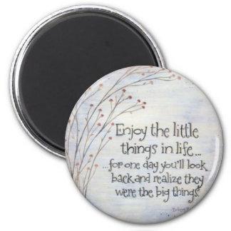Don't Sweat The Small Stuff Fridge Magnets