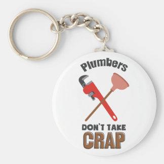 Dont Take Crap Keychain