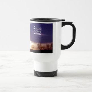 Don't Take Everything Personally Travel Mug