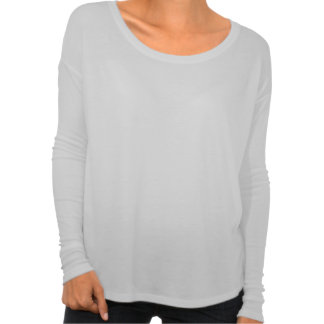 Women's Bella+Canvas Flowy T-Shirt with Fitted Long Sleeves
