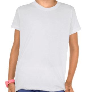 Girls' American Apparel Poly-Cotton Blend T-Shirt