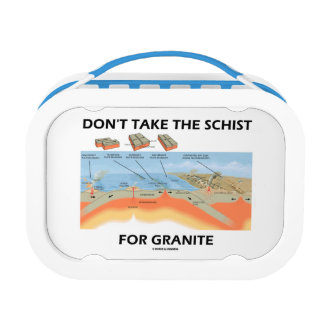 Don't Take The Schist For Granite (Geology Humor) Replacement Plate