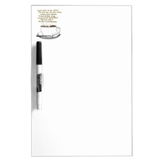 Don't Talk Need Coffee Dry Erase Whiteboards