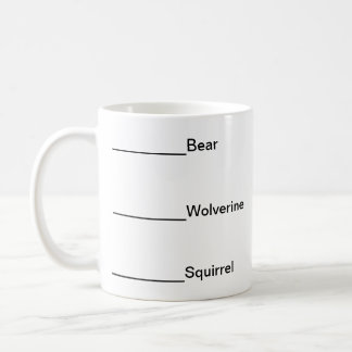 Don't talk to me before coffee-Animals Coffee Mug