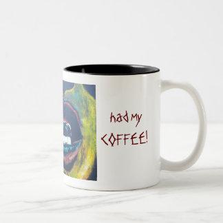 Don't talk to me - I need Coffee Two-Tone Coffee Mug