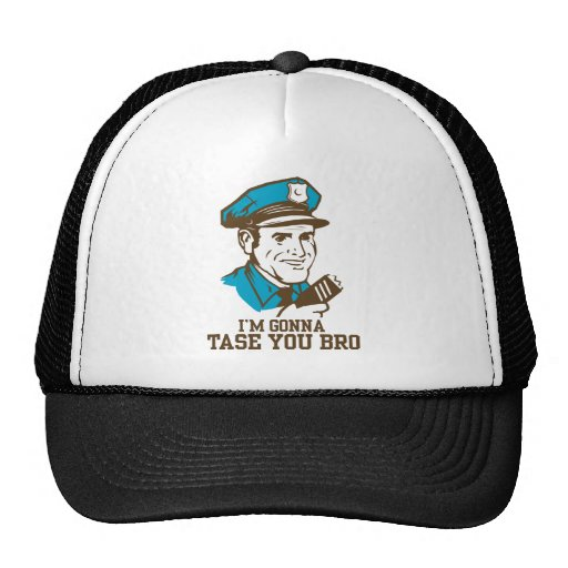 Don't Tase Me Bro Hat